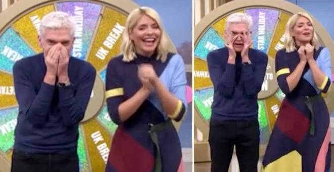 Holly and Phil were left in hysterics