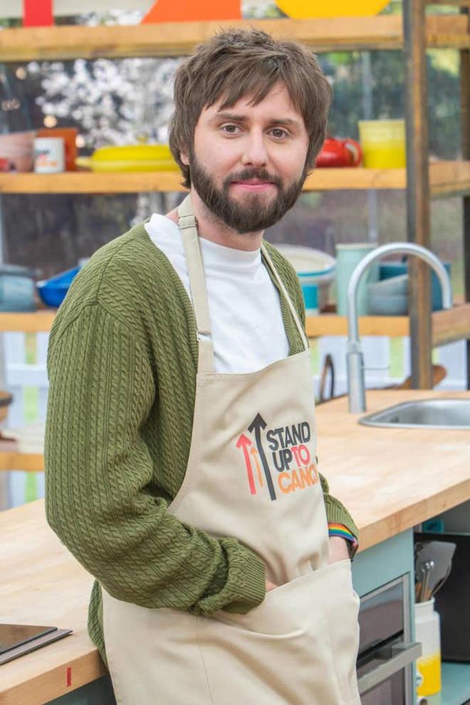 Inbetweeners actor James Buckley will be baking away