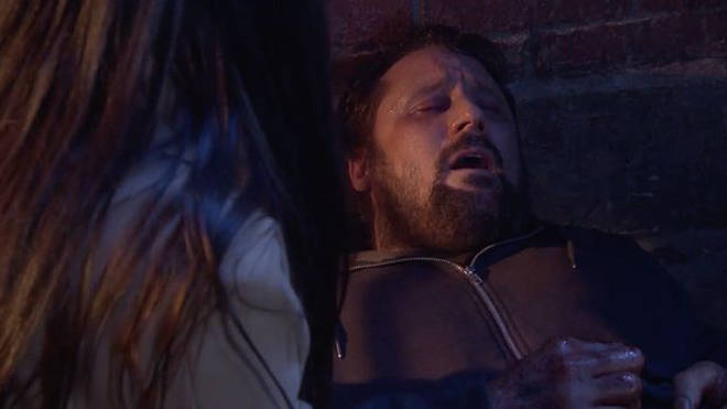 Tony seemingly bled to death in Hollyoaks Later