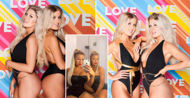 Eve and Jess are the first ever female twins on Love Island