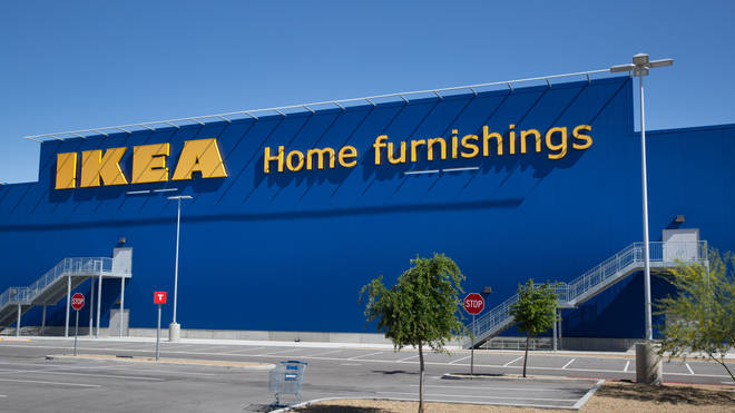 The product was recalled by IKEA in north America (stock image)