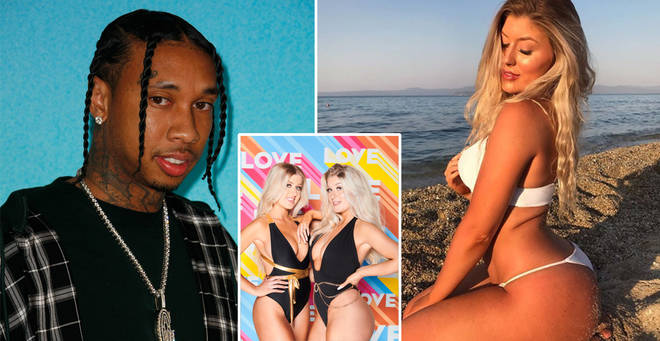 Eve Gale claims that Tyga used to message her on Instagram
