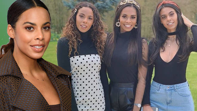 Rochelle's sisters are just as gorgeous as her
