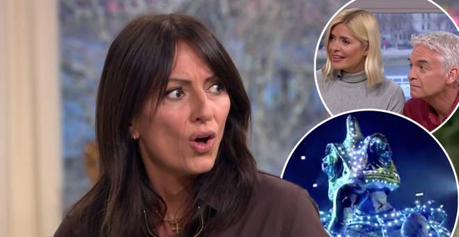 Davina McCall has revealed secrets behind the Masked Singer