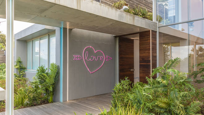 The Love Island villa has been given a makeover