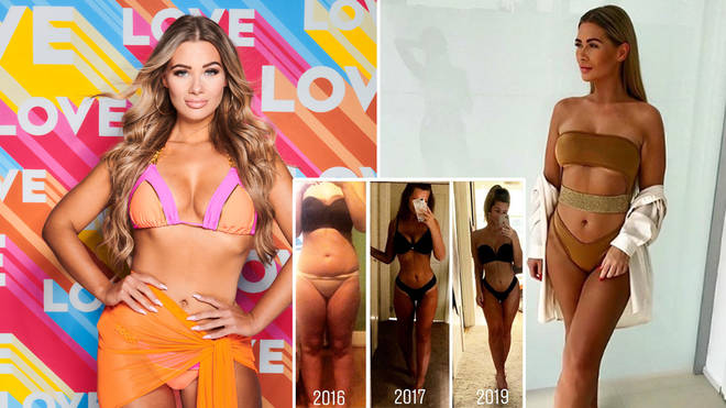 Shaughna showed off her weight loss before entering the Love Island villa