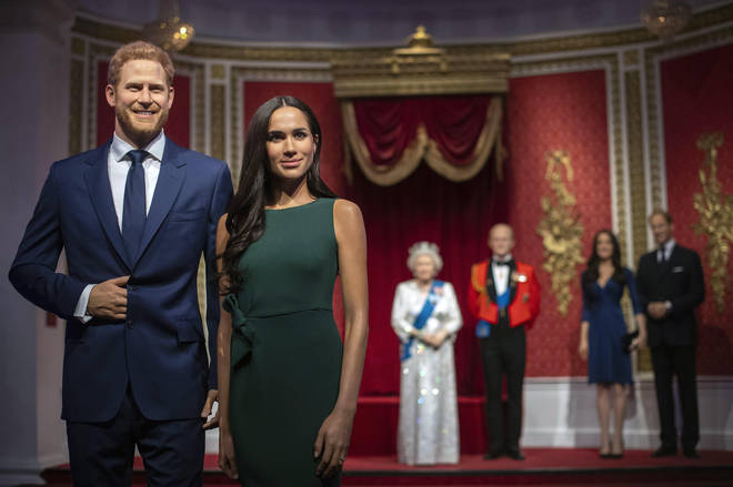 The Duke and Duchess of Sussex used to stand next to other senior members of the royal family