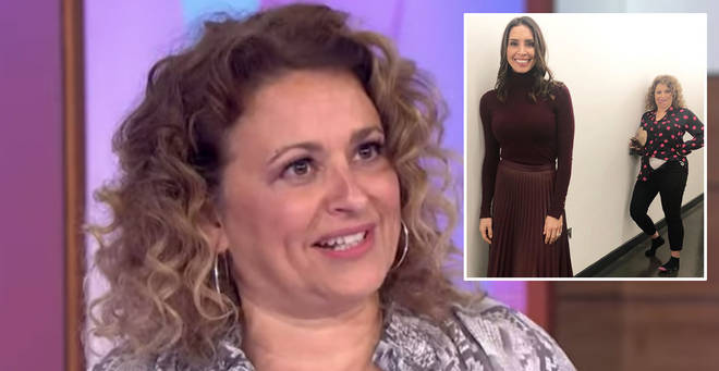 Nadia Sawalha has shared a hilarious photo