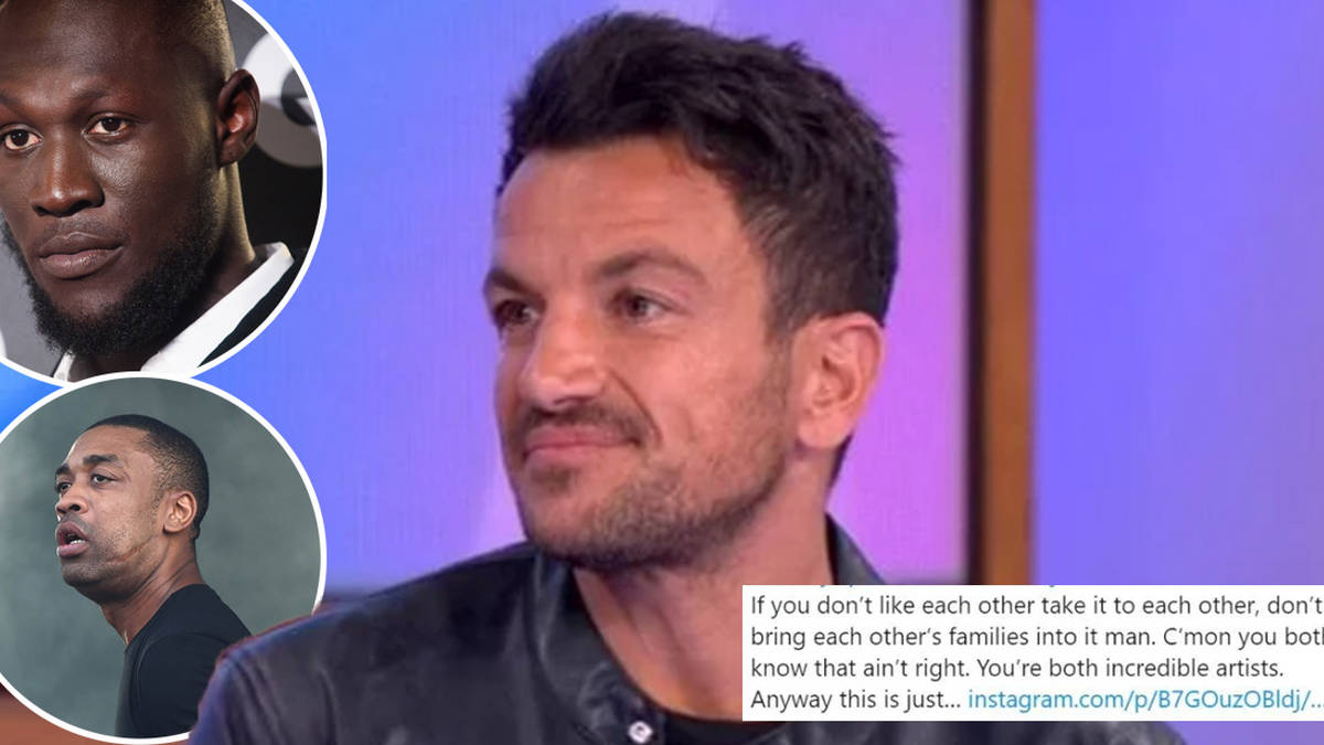 Peter Andre wades in to row between grime stars Wiley and Stormzy