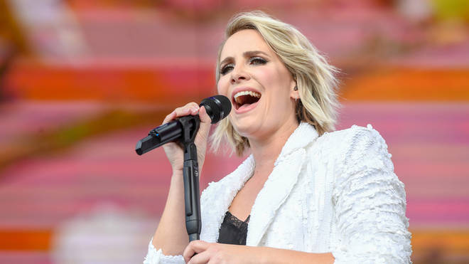 Claire richards performing at Hyde Park in 2019
