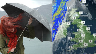 Severe wind and rain is set to hit the UK