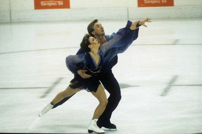 Torvill and Dean won an Olympic gold medal in 1984