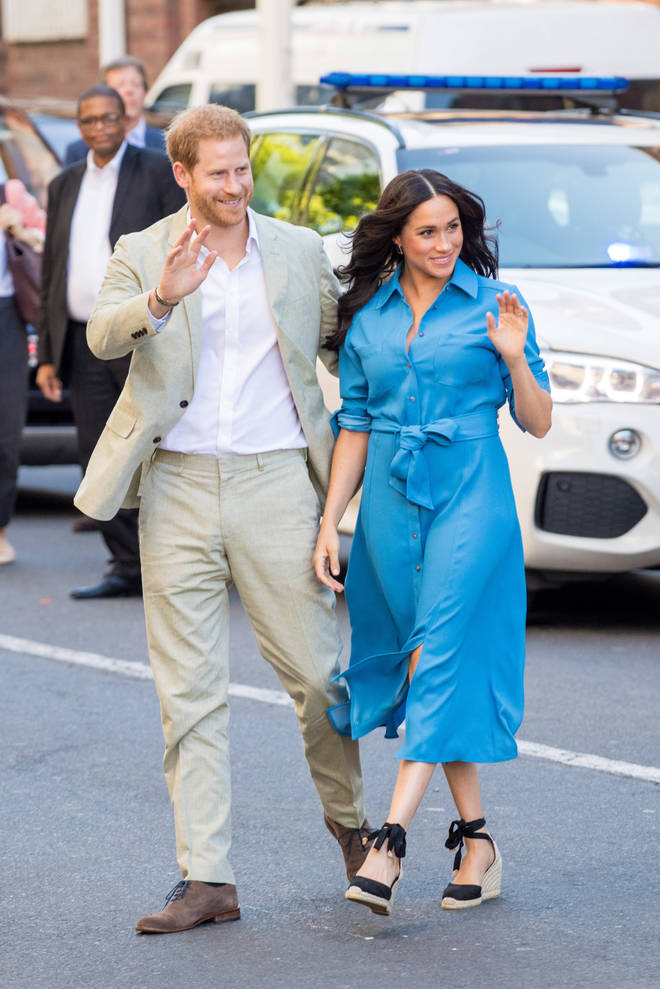 The Duke and Duchess of Sussex announced this month they will be stepping down as senior royals