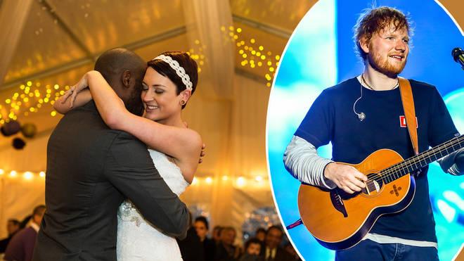 Sheeran is among the top wedding songs for 2019