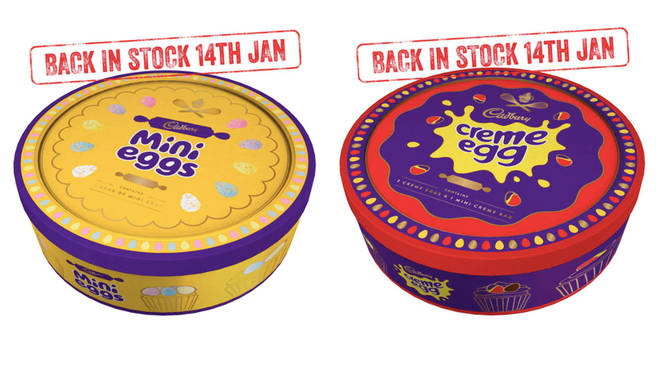 New Cadbury easter tins filled with Mini Eggs or Creme Eggs