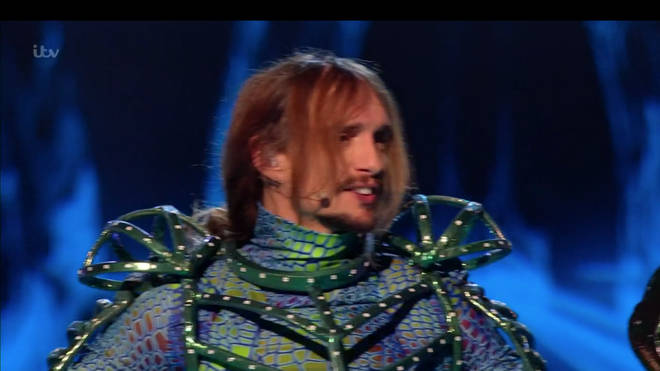 Justin Hawkins was unveiled as The Darkness singer Justin Hawkins