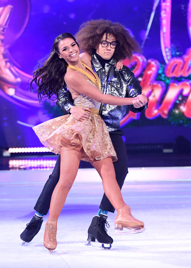 Vanessa Bauer is paired up with Diversity's Perri Kiely.