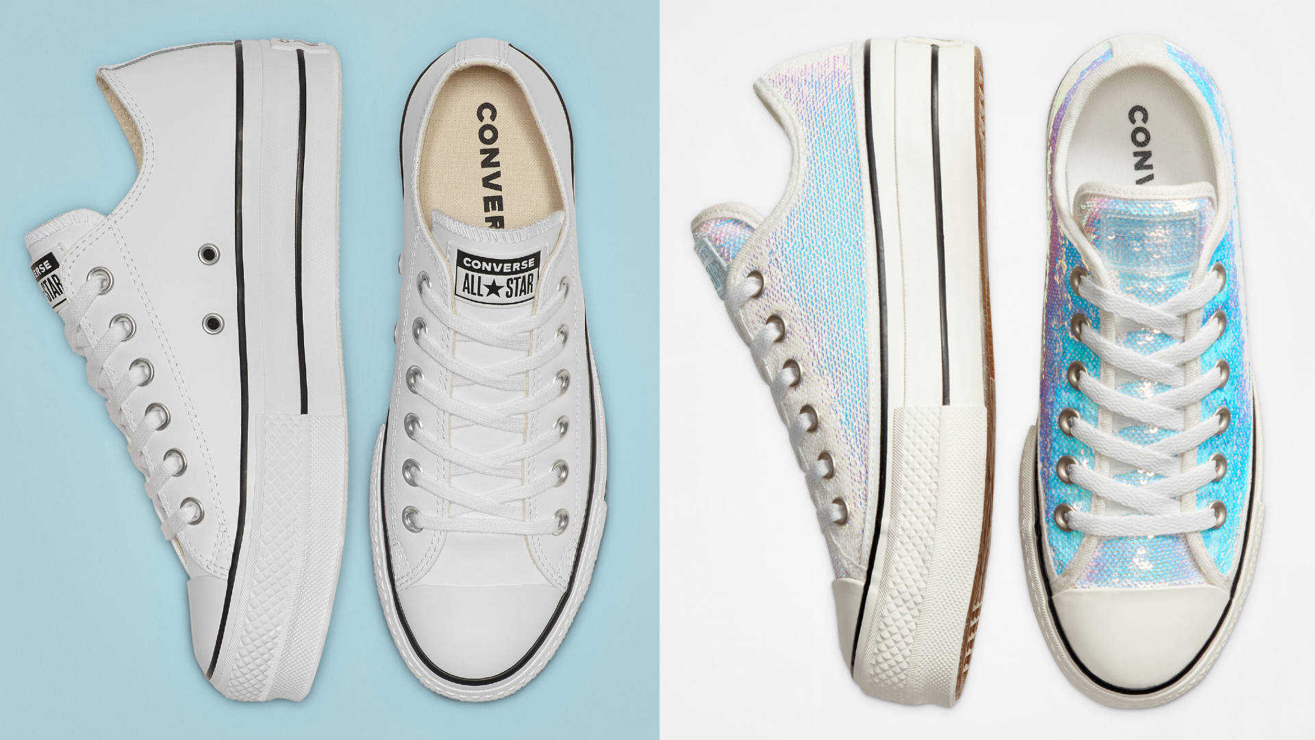 Converse is selling a brand new range of bridal sneakers