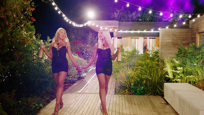 Eve and Jess entered the villa at the end of the episode