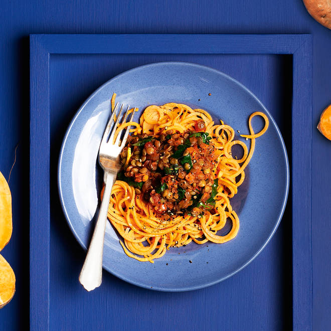 This is one spaghetti bol that won't leave you in a carb coma