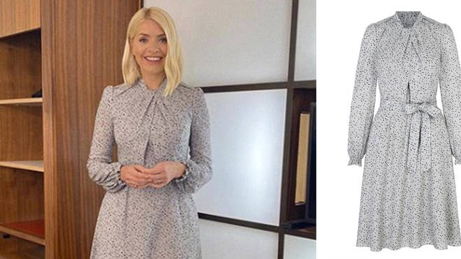 Holly looks amazing in this £195 dress