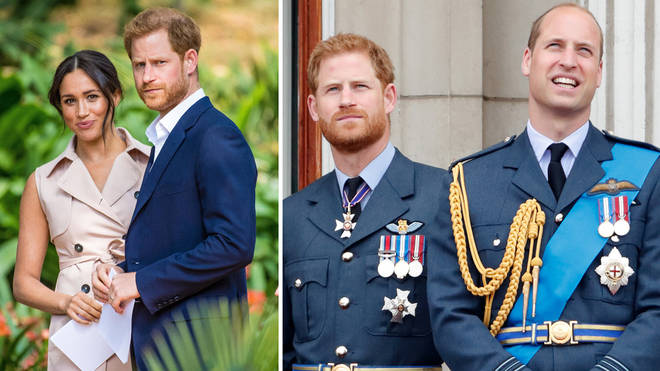Prince Harry and Prince William have released a joint statement over 'bullying' claims
