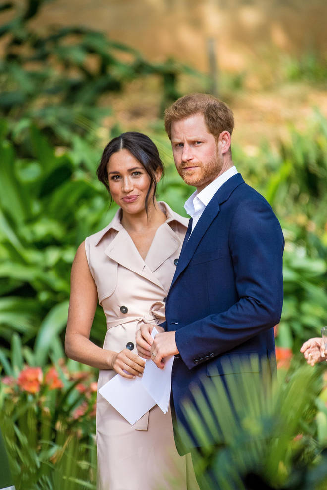 Meghan Markle and Prince Harry revealed last week they were to step down as senior royals