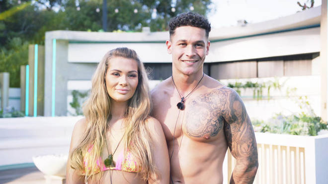 Callum is coupled up with Shaughna in the villa