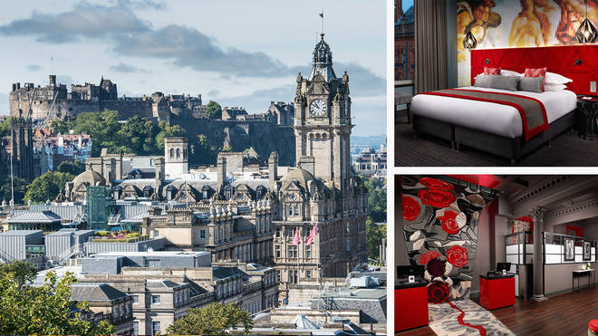 The mysteries of Edinburgh were just a stone's throw away