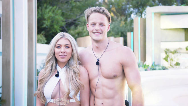 Ollie is currently coupled up with Paige on Love Island