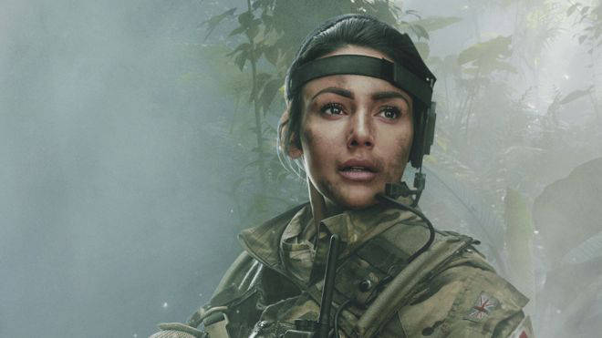Michelle played army medic Georgie Lane in the show