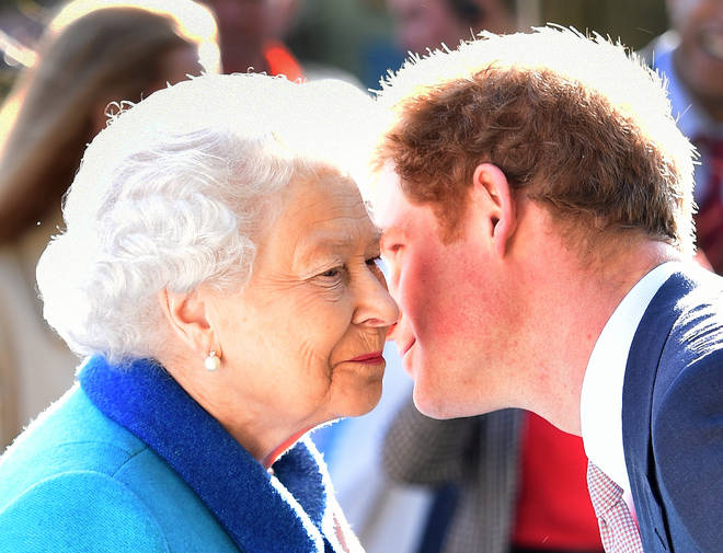 """The Queen said she is """"entirely supportive"""" of Meghan and Harry"""