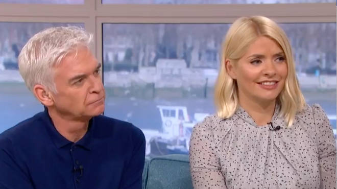 Holly and Phil discussed the drama on yesterday's This Morning