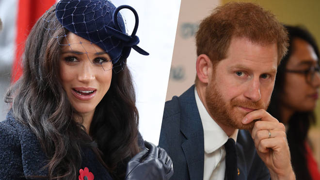 The Duchess of Sussex was not with Prince Harry during the meeting