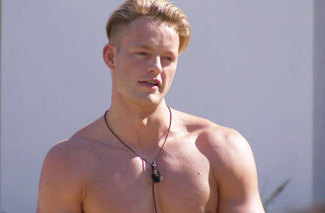 Ollie was in the Love Island villa for three days