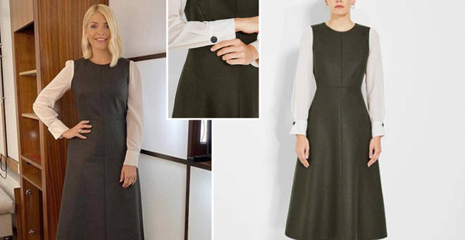 Holly Willoughby's dress is £390