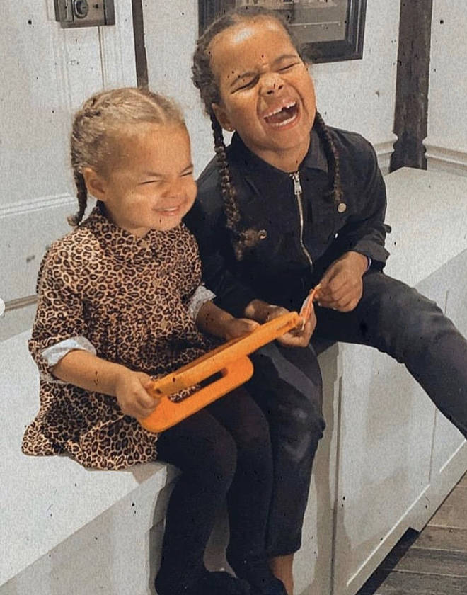 Alaia and Valentina are absolutely adorable