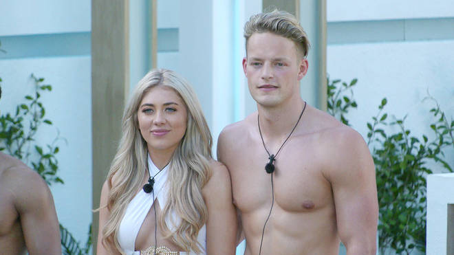 Ollie was coupled up with Paige on Love Island