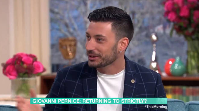 Giovanni grilled Holly over appearing on Strictly