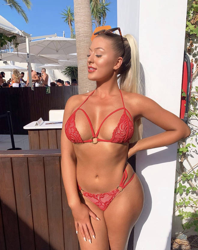 Mr Alex Karidis believes the twins could've had boob jobs (Eve pictured)