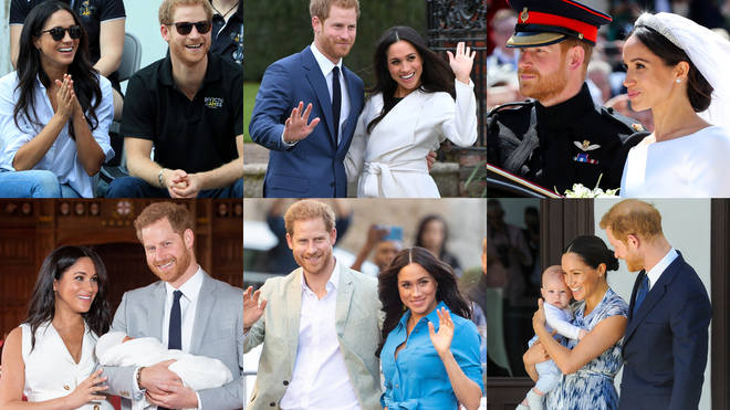 A timeline of Meghan and Harry's life as a royal couple