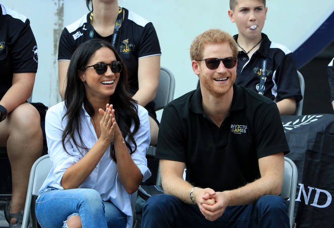 Meghan and Harry went public in 2016
