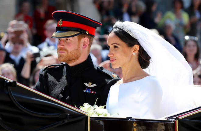 Meghan and Harry wed at Windsor Castle