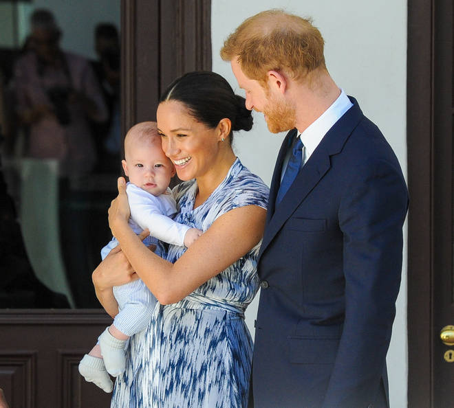 Baby Archie made an outing during Meghan and Harry's royal tour of South Africa