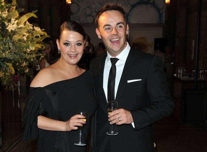 Ant and Lisa split two years ago, pictured here in 2010, four years into their marriage