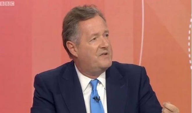 Piers has spoken out on Twitter, slamming the royal