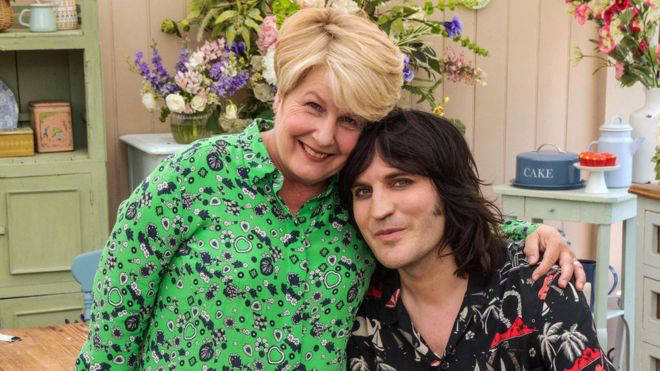 Sandi and Noel have presented GBBO since 2017