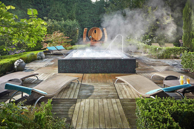 Part of the prize includes a trip to a gorgeous luxury spa