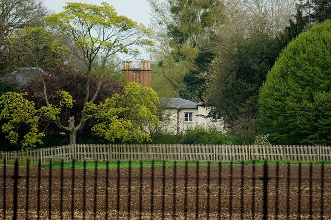 The staff at Frogmore Cottage are said to have been relocated