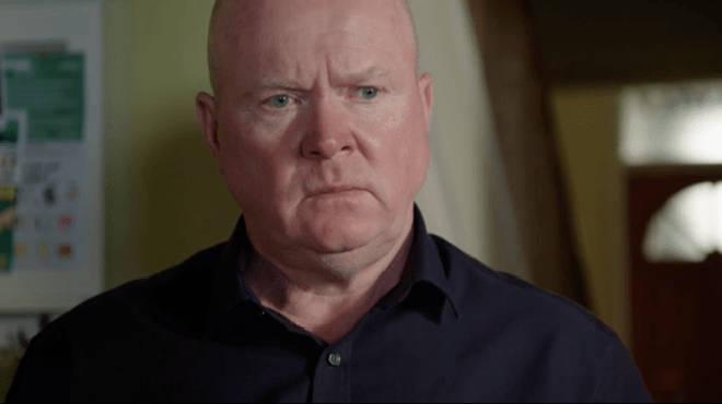 Phil Mitchell threw Sharon out of his house over Christmas